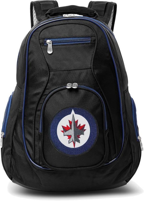 Mojo Winnipeg Jets Colored Trim Laptop Backpack product image