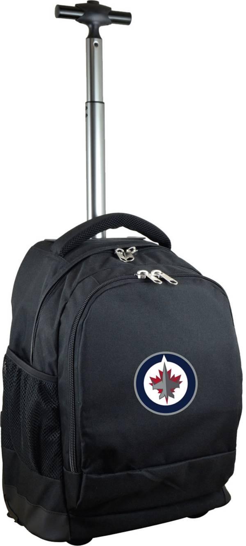 Mojo Winnipeg Jets Wheeled Premium Black Backpack product image