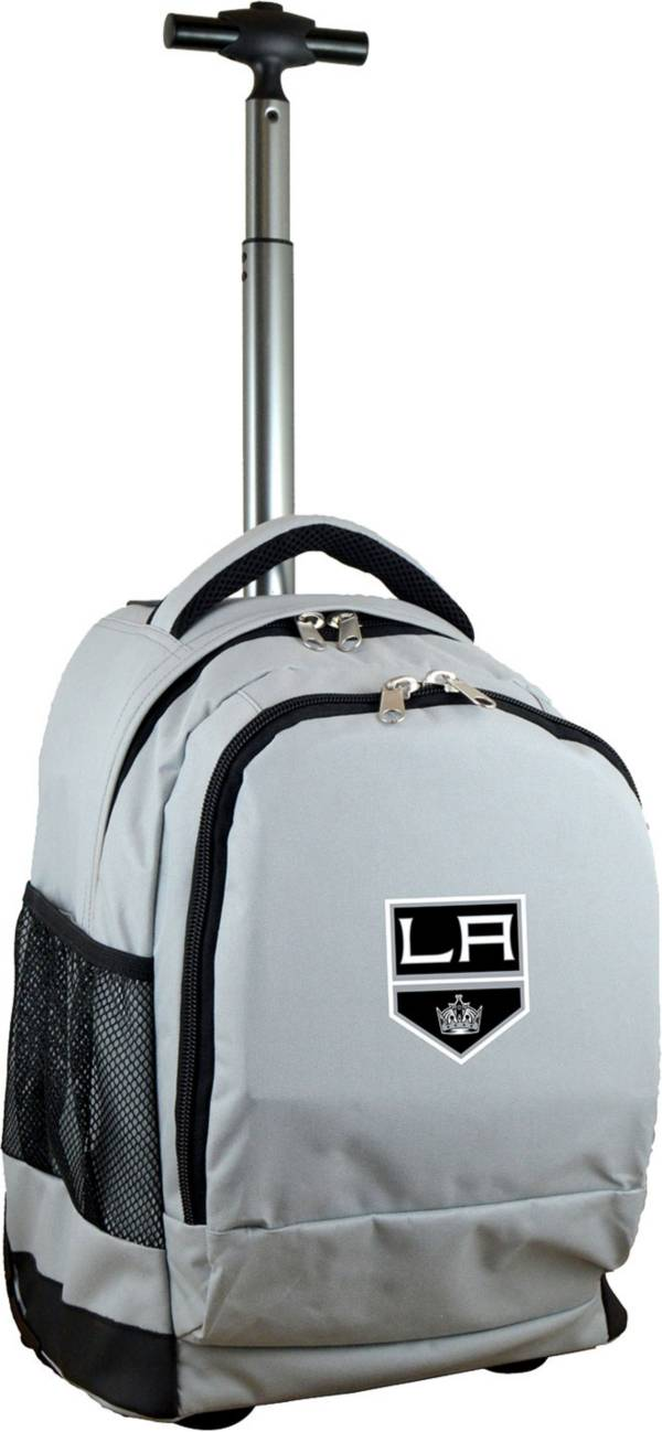 Mojo Los Angeles Kings Wheeled Premium Grey Backpack product image