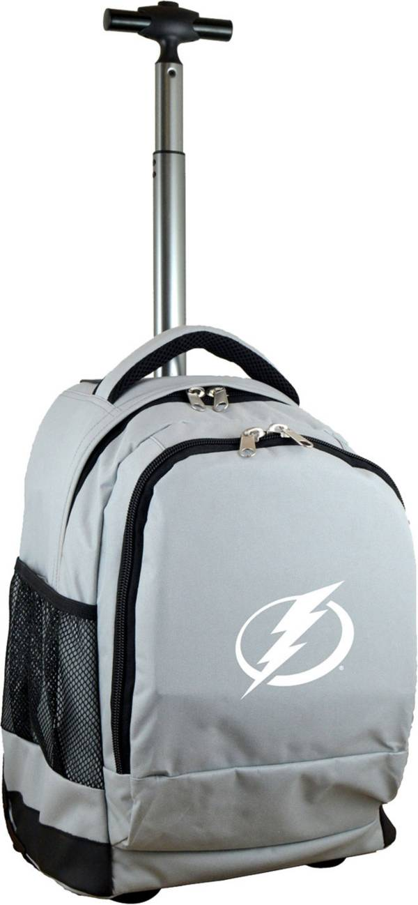 Mojo Tampa Bay Lightning Wheeled Premium Grey Backpack product image