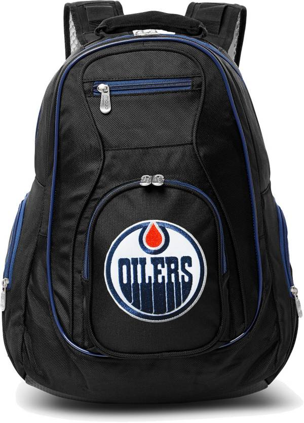 Mojo Edmonton Oilers Colored Trim Laptop Backpack product image