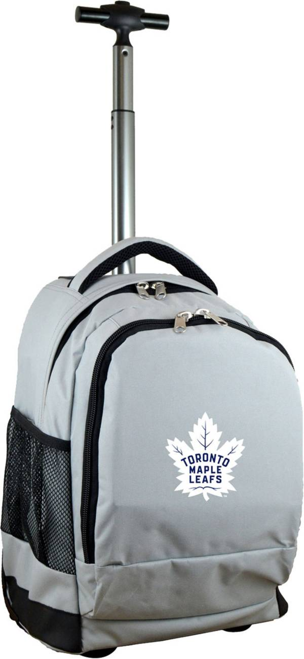 Mojo Toronto Maple Leafs Wheeled Premium Grey Backpack product image