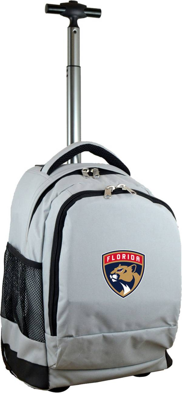 Mojo Florida Panthers Wheeled Premium Grey Backpack product image