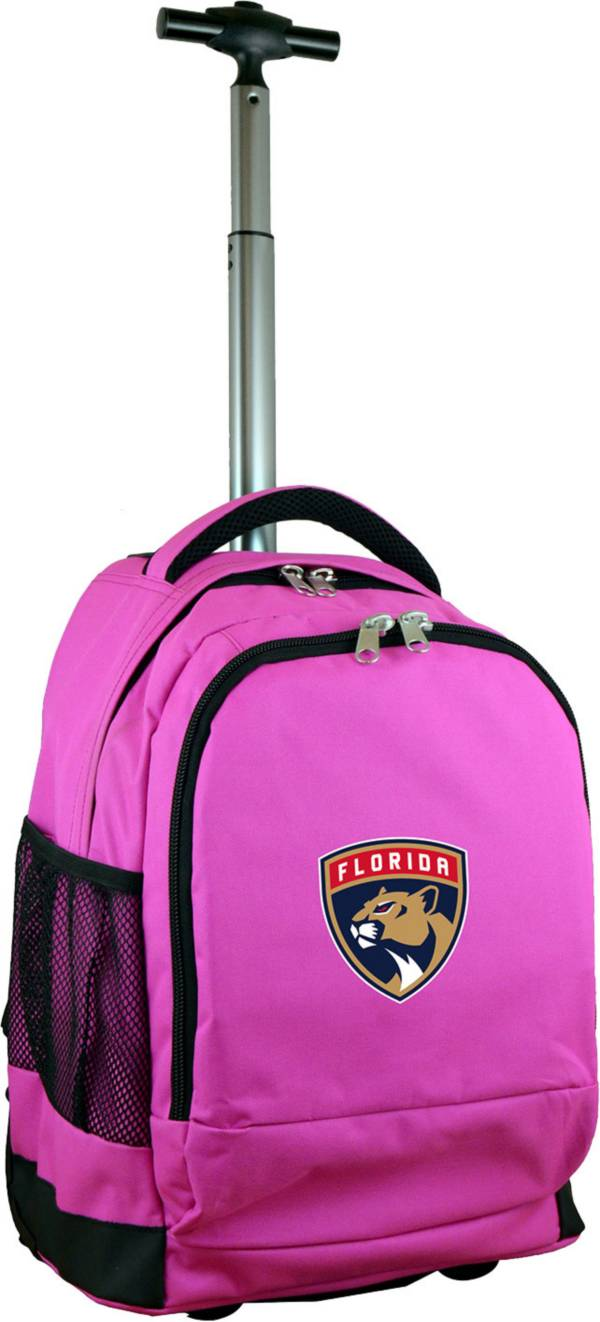 Mojo Florida Panthers Wheeled Premium Pink Backpack product image