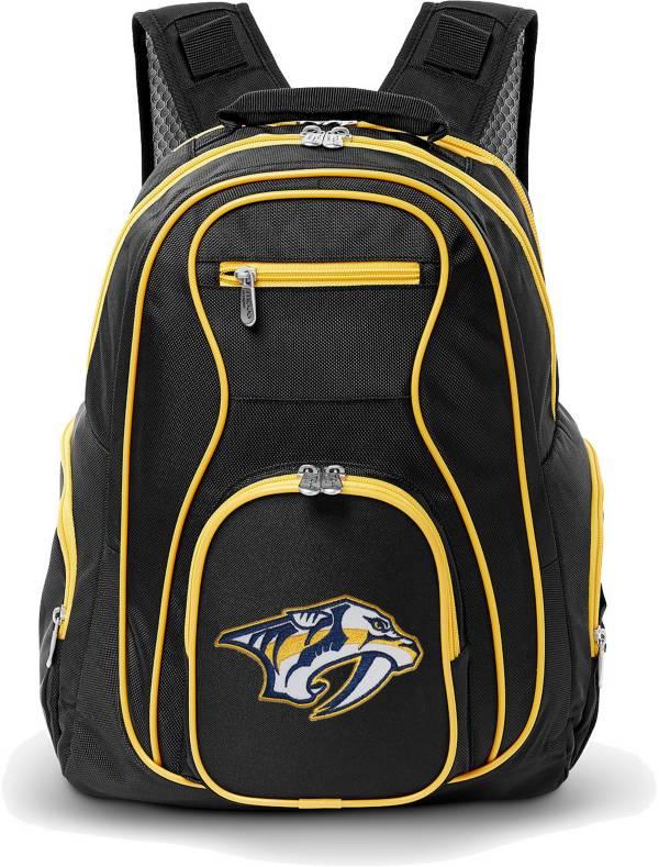 Mojo Nashville Predators Colored Trim Laptop Backpack product image