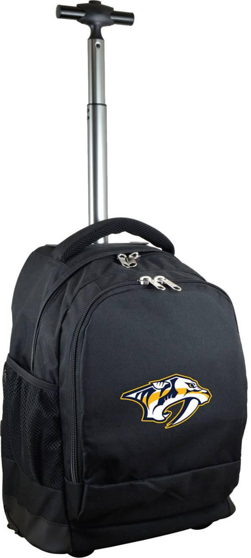 Mojo Nashville Predators Wheeled Premium Black Backpack product image