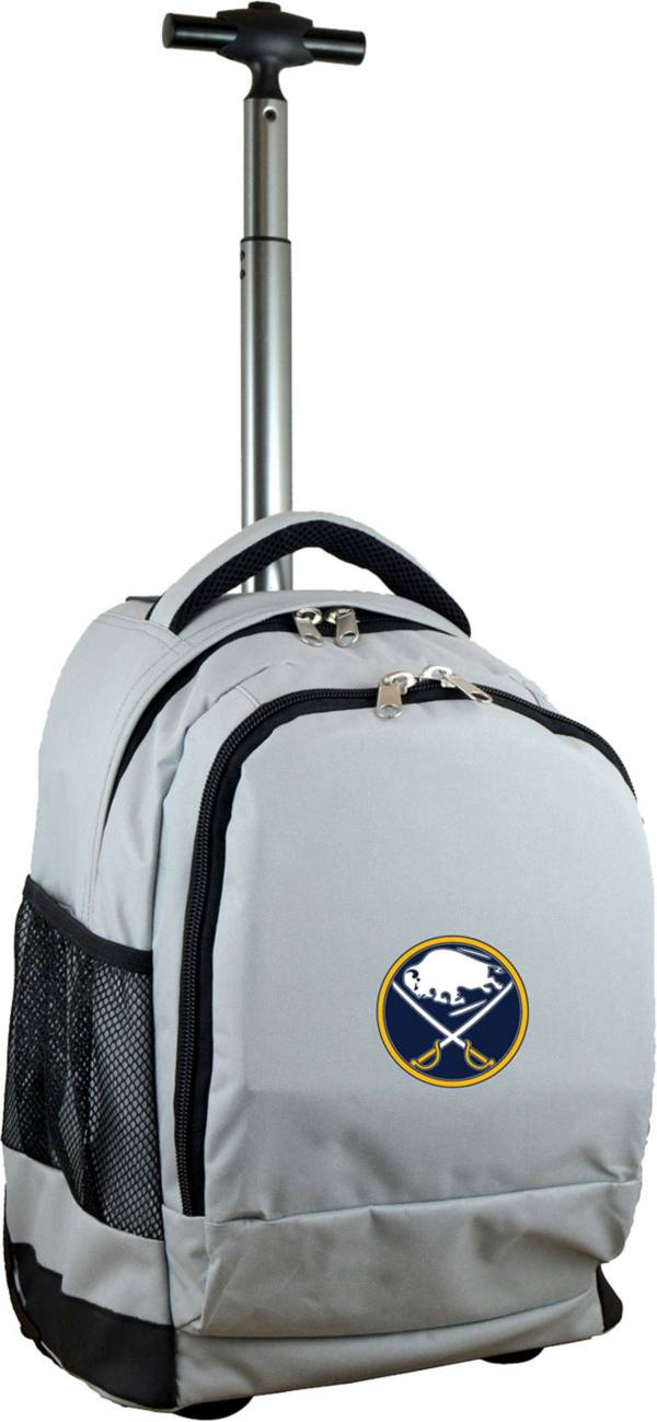 Mojo Buffalo Sabres Wheeled Premium Grey Backpack product image