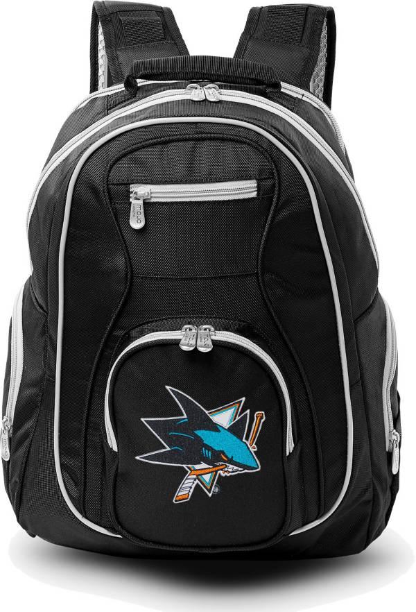 Mojo San Jose Sharks Colored Trim Laptop Backpack product image