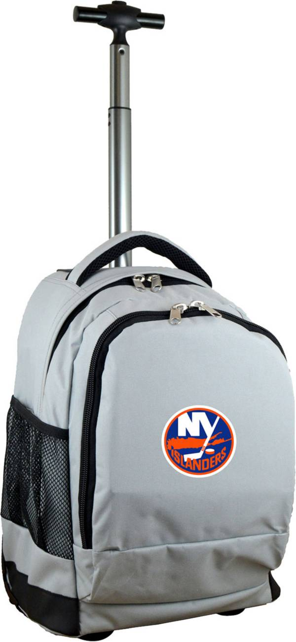 Mojo New York Islanders Wheeled Premium Grey Backpack product image