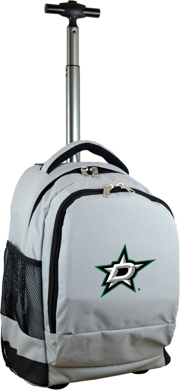 Mojo Dallas Stars Wheeled Premium Grey Backpack product image