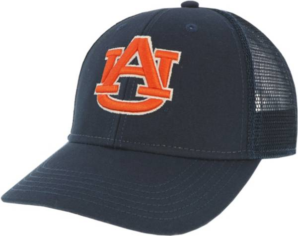 League-Legacy Men's Auburn Tigers Blue Lo-Pro Adjustable Trucker Hat product image
