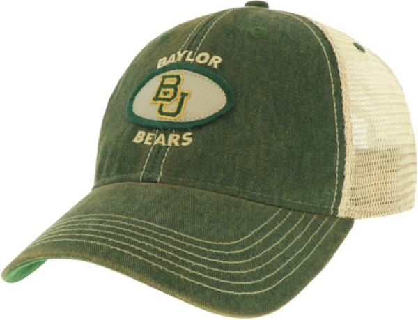 League-Legacy Men's Baylor Bears Green Old Favorite Adjustable Trucker Hat product image