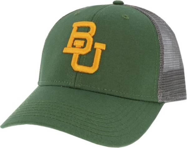 League-Legacy Men's Baylor Bears Green Lo-Pro Adjustable Trucker Hat product image