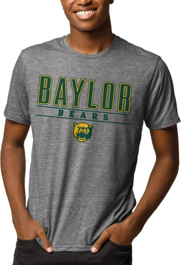 League-Legacy Men's Baylor Bears Grey Reclaim Tri-Blend T-Shirt product image