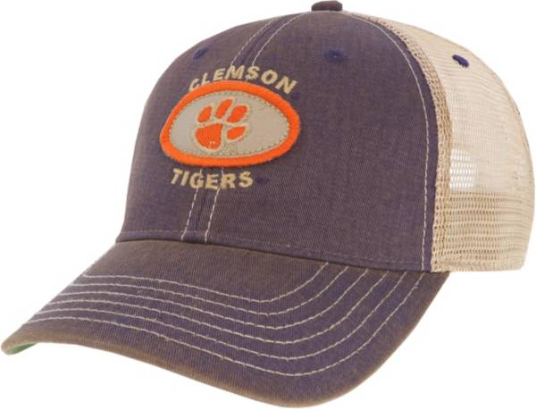 League-Legacy Men's Clemson Tigers Regalia Old Favorite Adjustable Trucker Hat product image