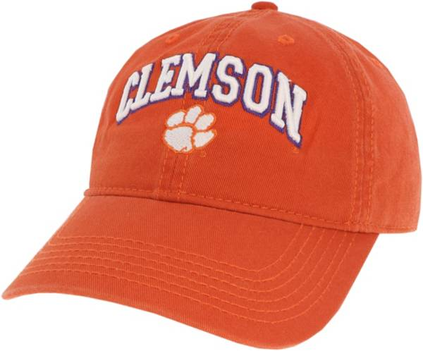 League-Legacy Men's Clemson Tigers Orange Relaxed Twill Adjustable Hat product image