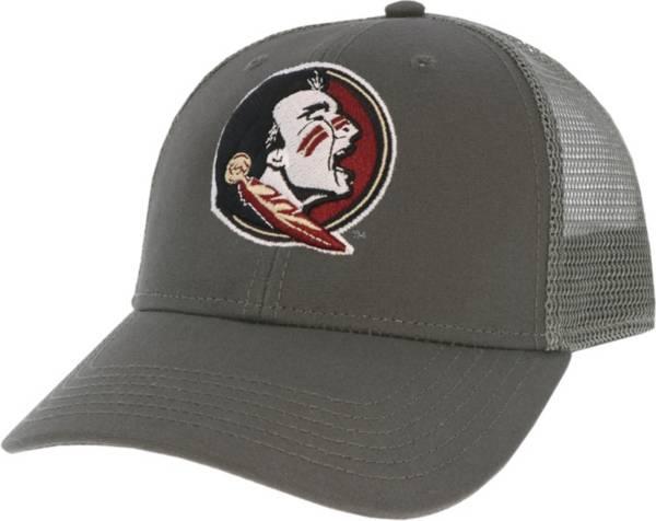 League-Legacy Men's Florida State Seminoles Grey Lo-Pro Adjustable Trucker Hat product image