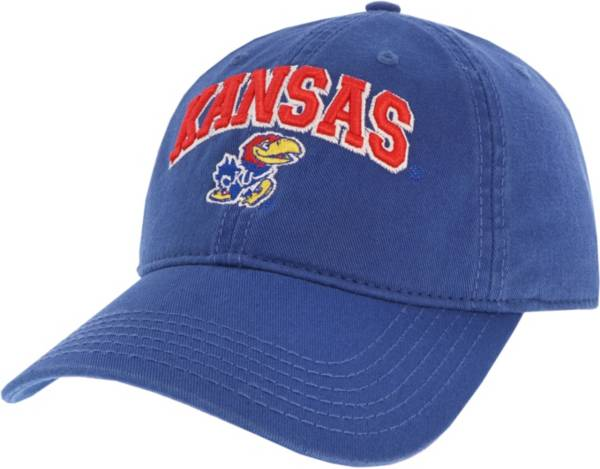 League-Legacy Men's Kansas Jayhawks Blue Relaxed Twill Adjustable Hat product image