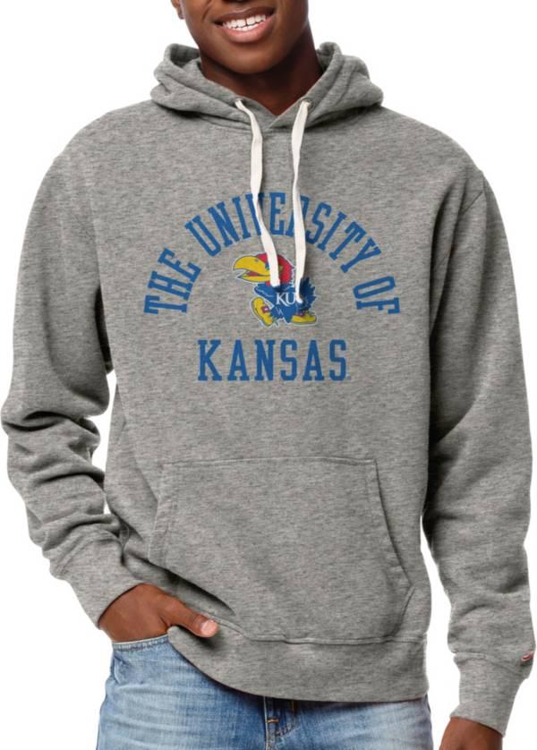 League-Legacy Men's Kansas Jayhawks Grey Stadium Hoodie product image