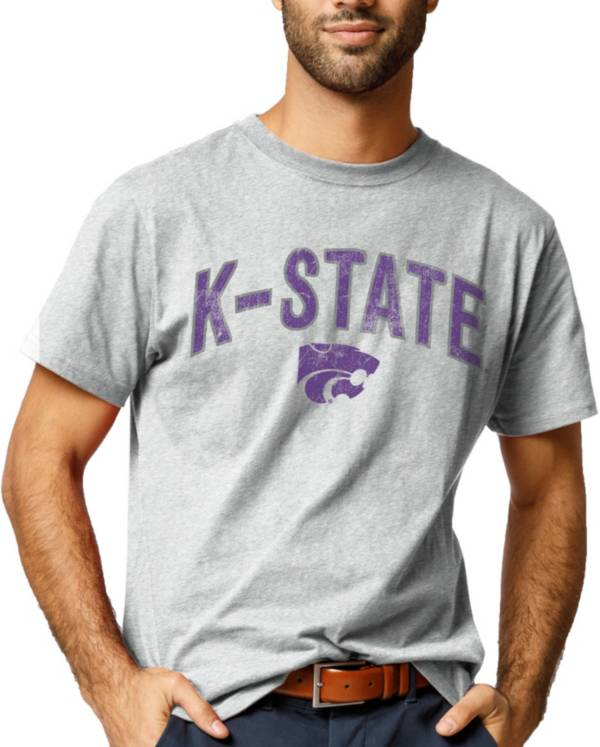League-Legacy Men's Kansas State Wildcats Grey All American T-Shirt product image