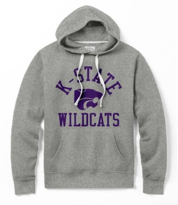 League-Legacy Men's Kansas State Wildcats Grey Stadium Hoodie product image