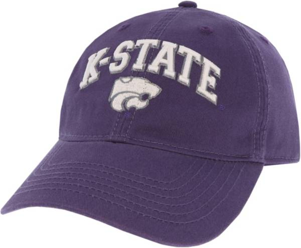 League-Legacy Men's Kansas State Wildcats Purple Relaxed Twill Adjustable Hat product image