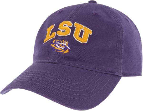 League-Legacy Men's LSU Tigers Purple Relaxed Twill Adjustable Hat product image