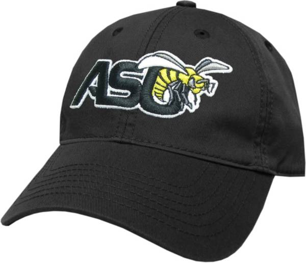 League-Legacy Men's Alabama State Hornets Relaxed Twill Adjustable Black Hat product image