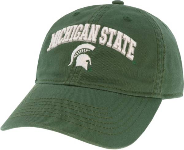 League-Legacy Men's Michigan State Spartans Green Relaxed Twill Adjustable Hat product image