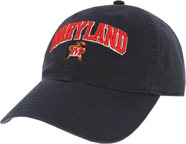 League-Legacy Men's Maryland Terrapins Relaxed Twill Adjustable Black Hat product image