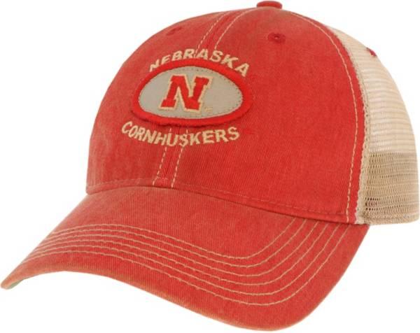 League-Legacy Men's Nebraska Cornhuskers Scarlet Old Favorite Adjustable Trucker Hat product image