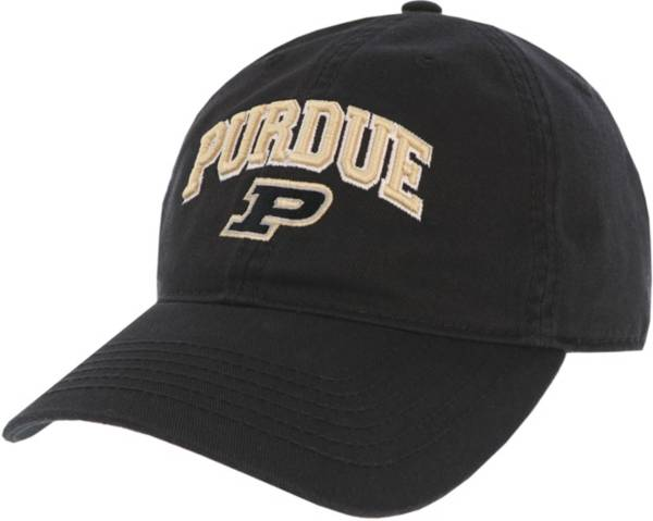 League-Legacy Men's Purdue Boilermakers Relaxed Twill Adjustable Black Hat product image
