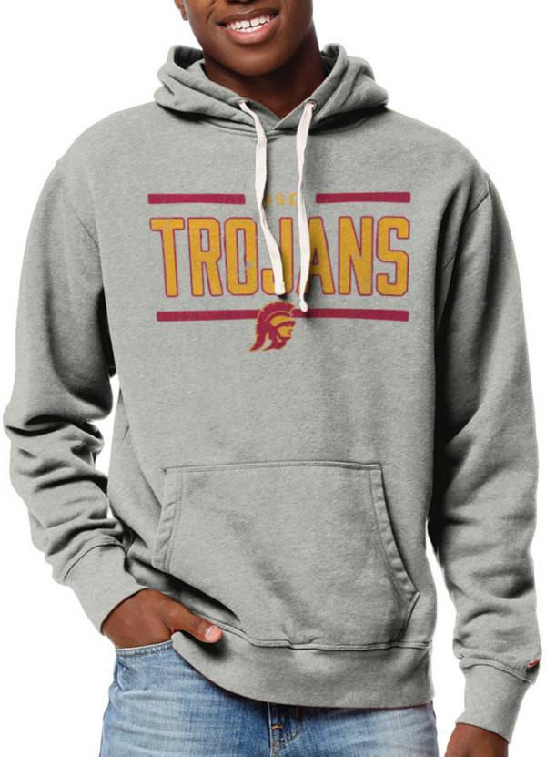 League-Legacy Men's USC Trojans Grey Stadium Hoodie product image