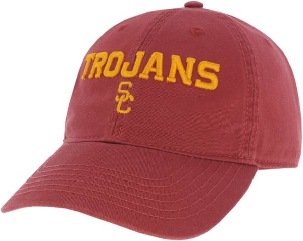 League-Legacy Men's USC Trojans Cardinal Relaxed Twill Adjustable Hat product image