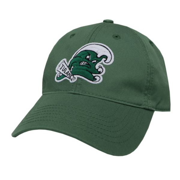 League-Legacy Men's Tulane Green Wave EZA Adjustable Hat product image