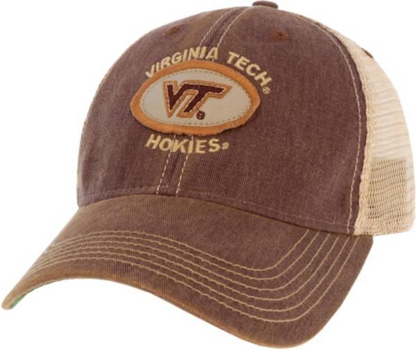League-Legacy Men's Virginia Tech Hokies Maroon Old Favorite Adjustable Trucker Hat product image