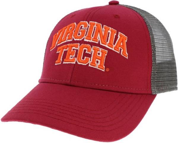 League-Legacy Men's Virginia Tech Hokies Maroon Lo-Pro Adjustable Trucker Hat product image