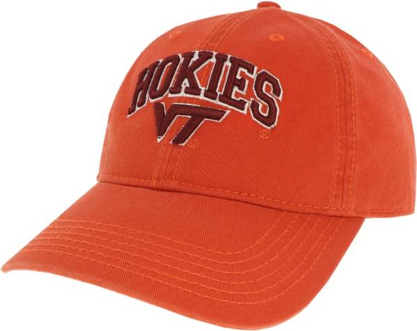 League-Legacy Men's Virginia Tech Hokies Burnt Orange Relaxed Twill Adjustable Hat product image