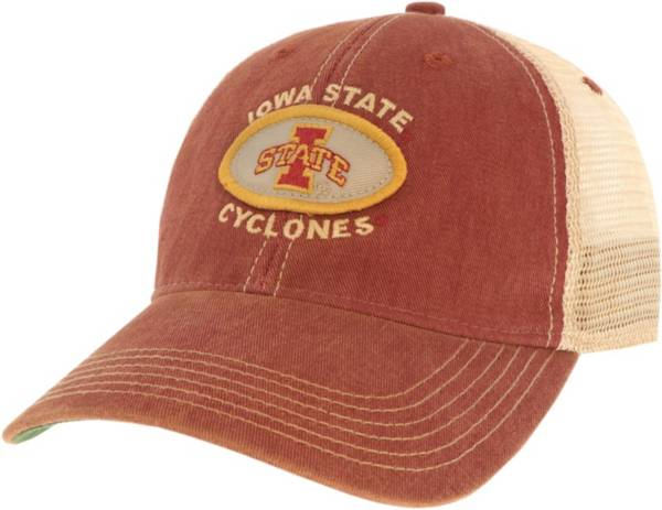 League-Legacy Men's Iowa State Cyclones Cardinal Old Favorite Adjustable Trucker Hat product image
