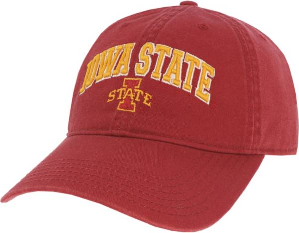 League-Legacy Men's Iowa State Cyclones Cardinal Relaxed Twill Adjustable Hat product image