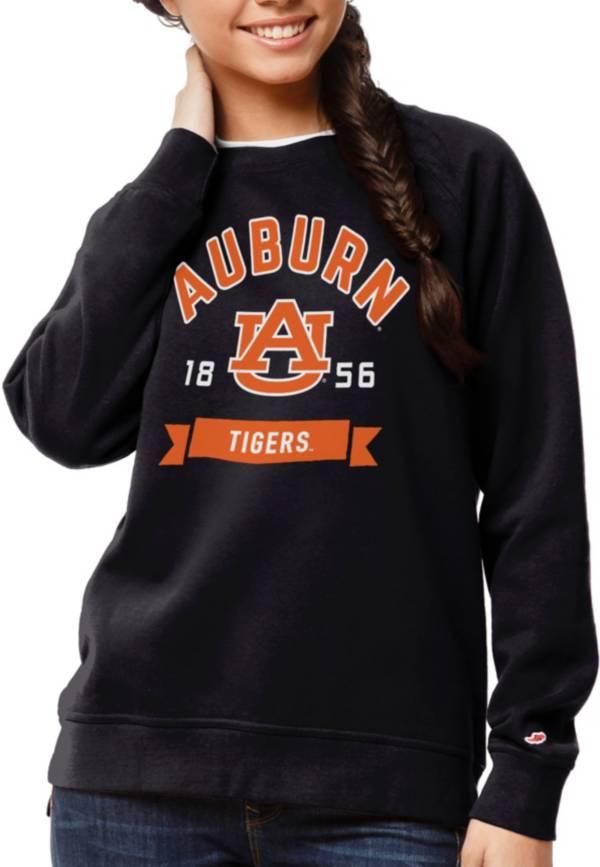 League-Legacy Women's Auburn Tigers Blue Academy Crew Sweatshirt product image