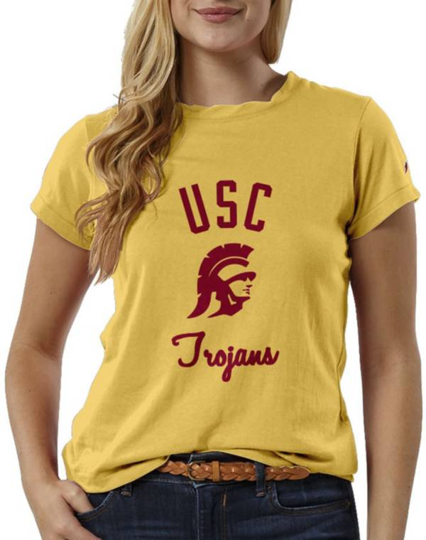 League-Legacy Women's USC Trojans Gold ReSpin T-Shirt product image