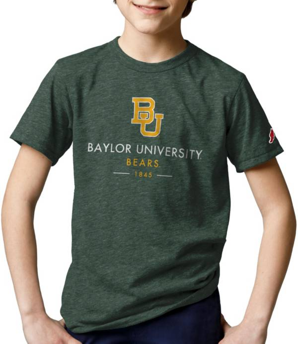 League-Legacy Youth Baylor Bears Green Tri-Blend Victory Falls T-Shirt product image