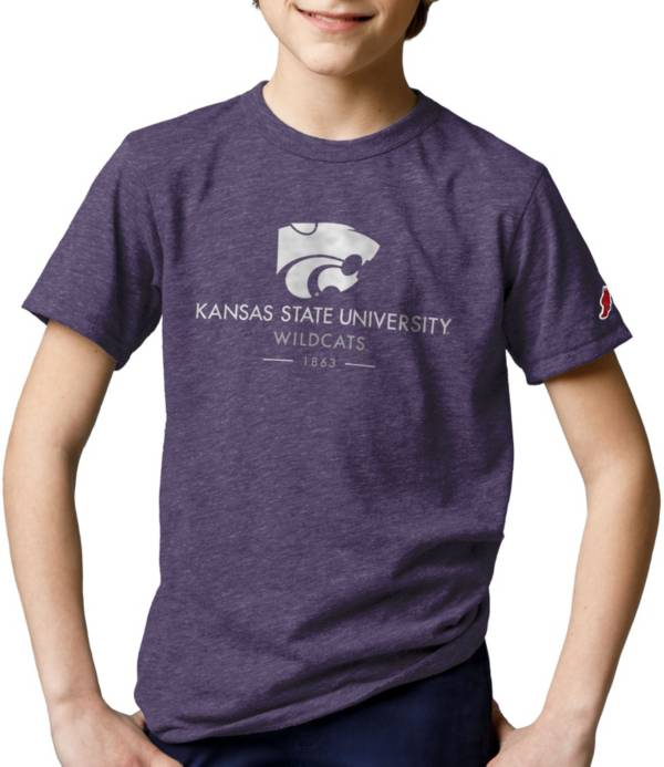 League-Legacy Youth Kansas State Wildcats Purple Tri-Blend Victory Falls T-Shirt product image