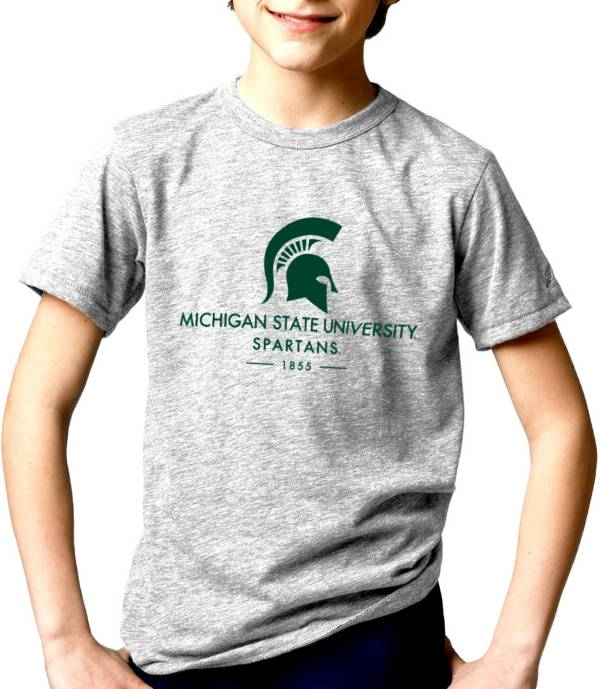League-Legacy Youth Michigan State Spartans White Tri-Blend Victory Falls T-Shirt product image