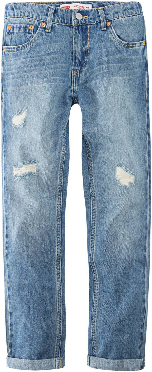 Levi's Boys' 502 Regular Taper Fit Active Stretch Jeans product image