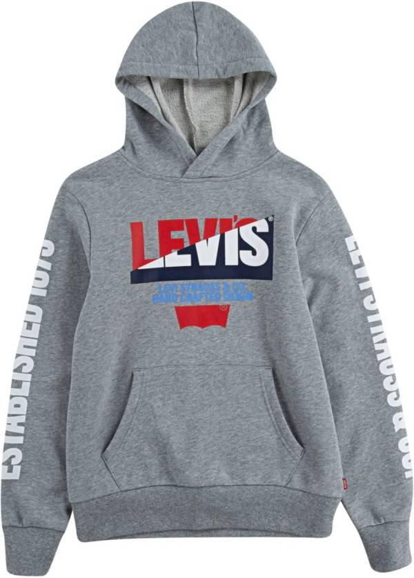 Levi's Boys' Logo Fleece Pullover Hoodie product image