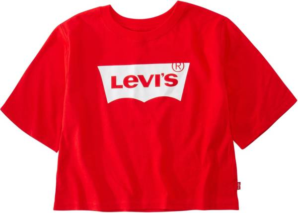 Levi's Girls' Batwing Logo Cropped T-Shirt product image