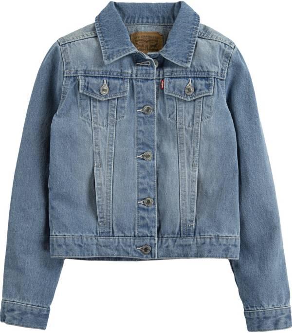 Levi's Girls' Denim Trucker Jacket product image
