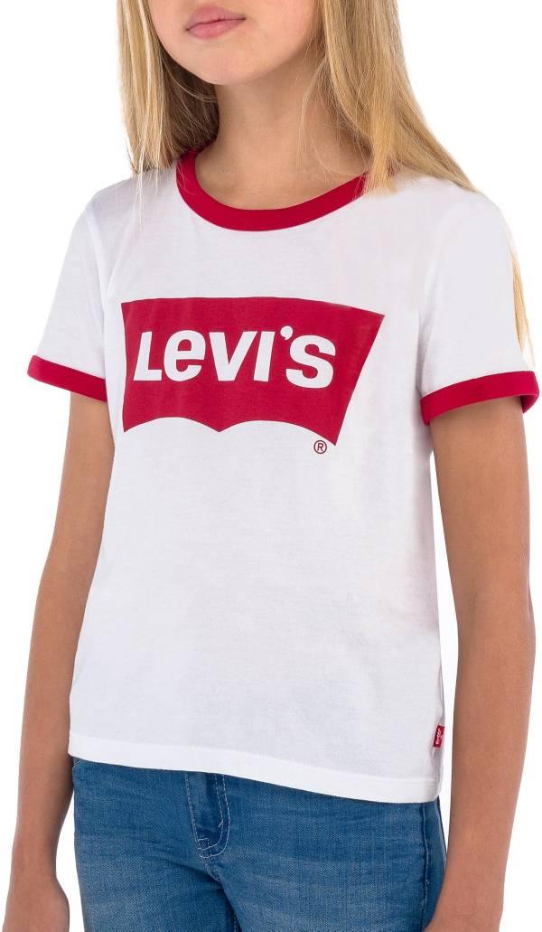 Levi's Girls' Batwing Logo Ringer T-Shirt product image